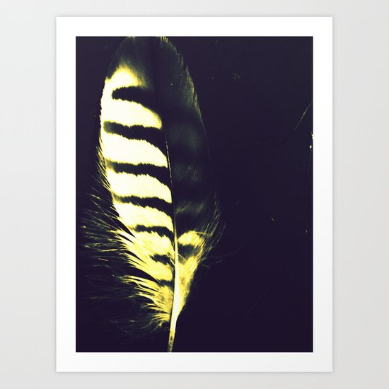 Shake Your Tail Feather Art Print