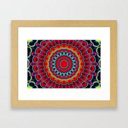 Solar Straws Framed Art Print