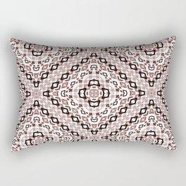 Ethnic ikat pattern.4 Rectangular Pillow