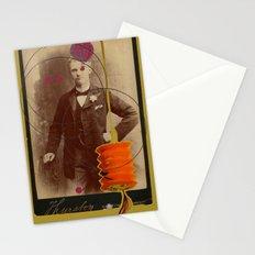 victorian gentleman  Stationery Cards