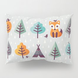 FOX IN THE FOREST Pillow Sham