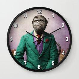 Bradley was a Young Gorilla with BIG Dreams Wall Clock