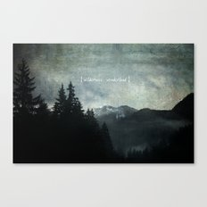 Wilderness Wonderland Canvas Print