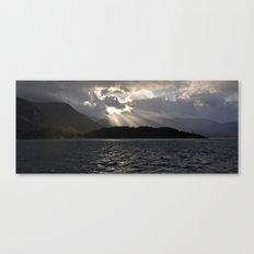 Light through Clouds Canvas Print