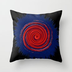 Portal to Mars Throw Pillow