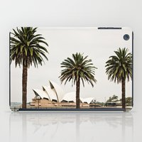 sydney iPad Cases featuring Sydney by janisratnieks