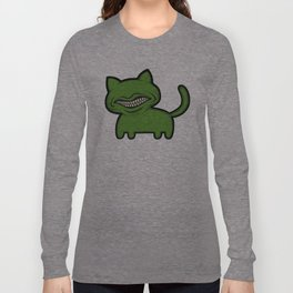 toothcat (grn) Long Sleeve T-shirt