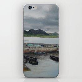 Roundstone Harbour, Connemara, Gallway, Ireland iPhone Skin