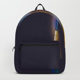 Colored Pencils Noir Backpack