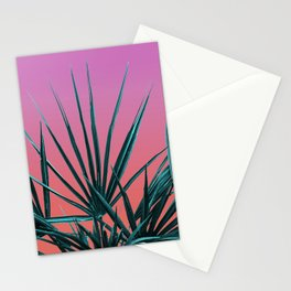 Pink Palm Life - Miami Vaporwave Stationery Cards