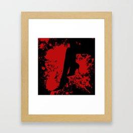 Killer Heels Framed Art Print