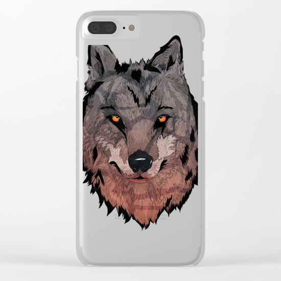 Wolf Mother Clear iPhone Case