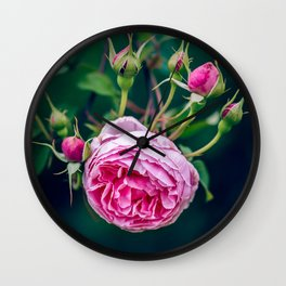 Blessing Rose Wall Clock