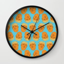 PigFaced Trump Pattern Wall Clock