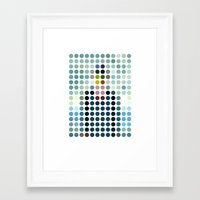 magritte Framed Art Prints featuring Rene Magritte by Gary Andrew Clarke