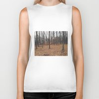 indiana Biker Tanks featuring Indiana Forest by Kurt Rahn