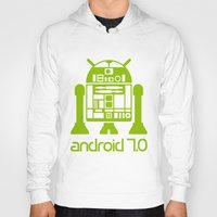 android Hoodies featuring Android 7 by andyk77