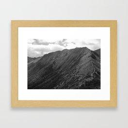 //05-06 HANGING VALLEY Framed Art Print