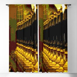 Beer pull Blackout Curtain