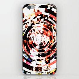decreasing circles iPhone Skin