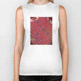 Domino Labyrinth Biker Tank