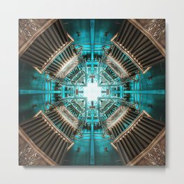 Rocket Propulsion Chamber Metal Print