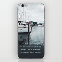 Boats and Water iPhone Skin