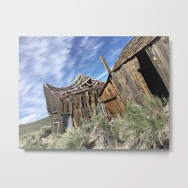 Ghost town time standing still Metal Print