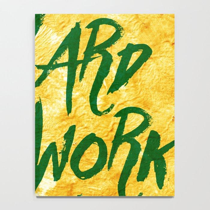 Hard Work Beats Talent Notebook