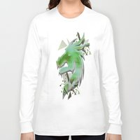 dragon Long Sleeve T-shirts featuring Dragon by Sarah Maurer