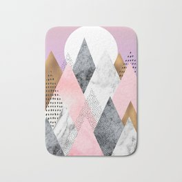 Blush Mountain Bath Mat