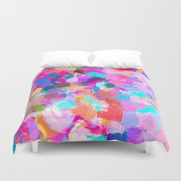 Candy Shop #painting Duvet Cover