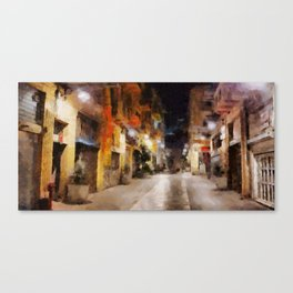 Haifa city 7 Canvas Print