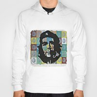 che Hoodies featuring Everywhere a Che, Che by Ethna Gillespie