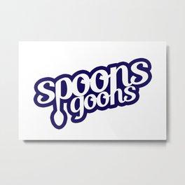 The Spoons Goons Metal Print