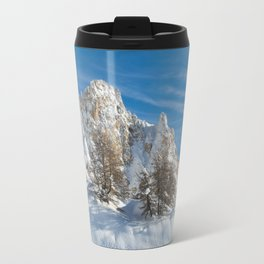 Alpine Mountain, Les Arcs Resort Travel Mug