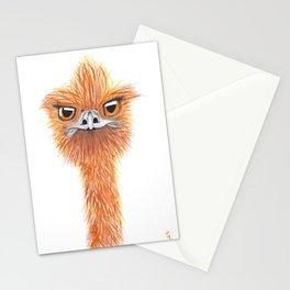 Karen the Emu Stationery Cards