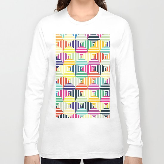 Colorful Circles IV Long Sleeve T-shirt