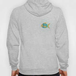 Yellow Fish Hoody