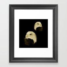 American Eagles Framed Art Print
