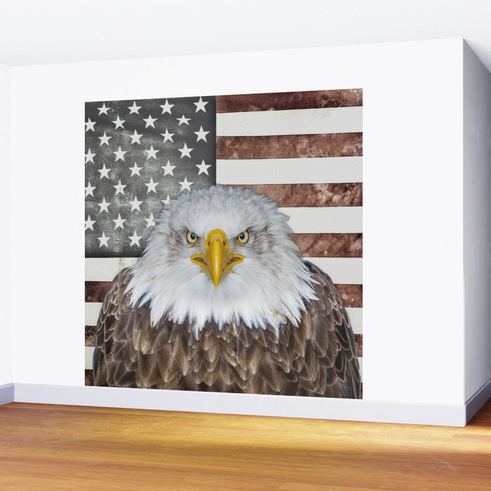 American Bald Eagle Patriot Wall Mural