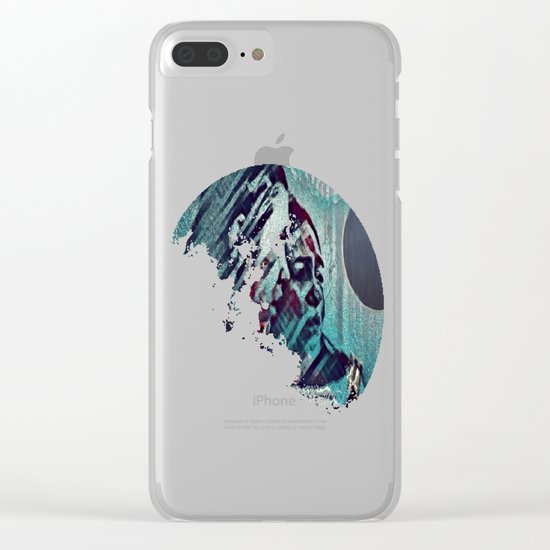Just Shut It All Down - Eclipse Clear iPhone Case