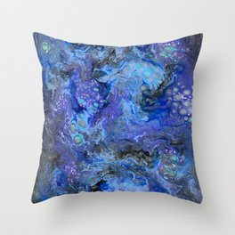 Nebulaic Eddy Throw Pillow