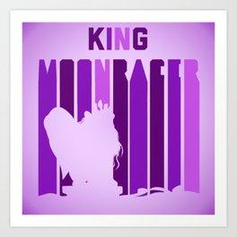 King MoonRacer Art Print