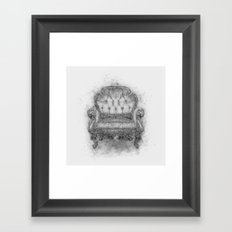 Sit a Bit! Framed Art Print