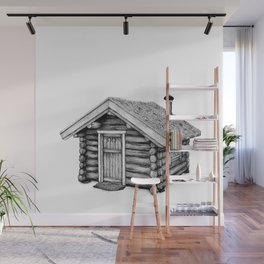 Log Cabin Wall Murals For Any Decor Style Society6