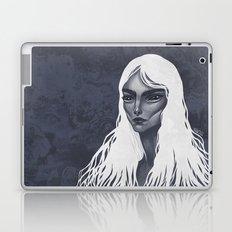 White Haired Laptop & iPad Skin