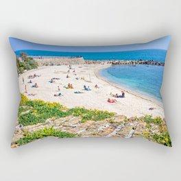 Antibes Beach Rectangular Pillow