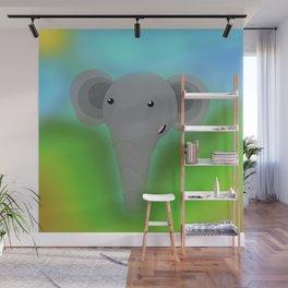 Elbert the Elephant Wall Mural