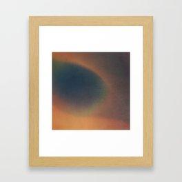 HE KNEW EVERYTHING Framed Art Print